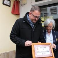 Homenaje al emeritense Jesús Cabezas