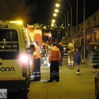 Incendio en una vivienda de la barriada de Llera (Badajoz)