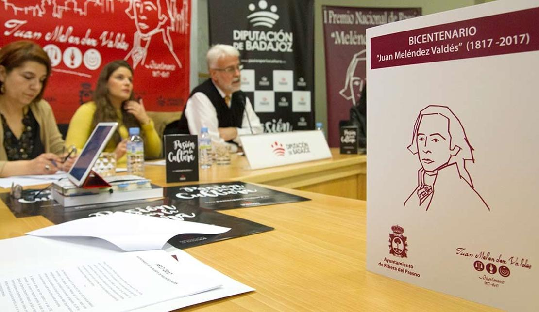 Seis poemarios compiten por el Premio de Poesía Nacional Meléndez Valdés