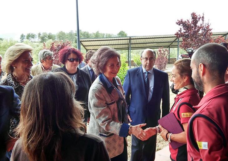 La Reina Sofía visitará Extremadura esta semana
