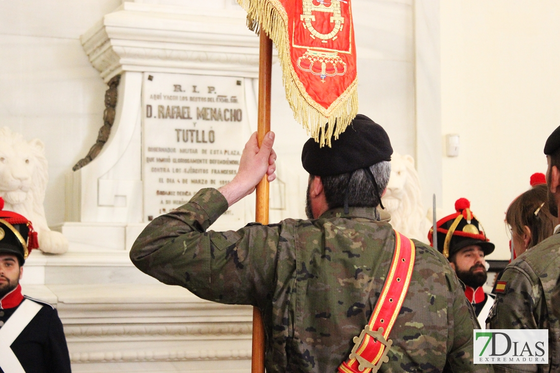Badajoz rinde homenaje al General Menacho