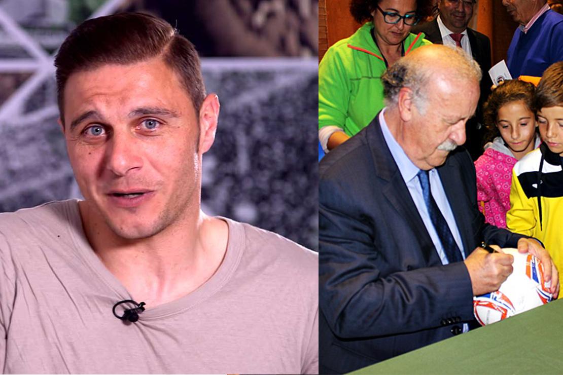 Vicente del Bosque y Joaquín participarán en un torneo benéfico en Badajoz