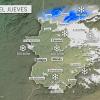 Se mantiene la previsión de nevadas en cotas bajas este jueves en Extremadura