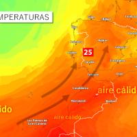 Las temperaturas volverán a los 25ºC esta semana