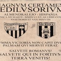 El Extremadura UD – Mérida AD declarado medio día del club