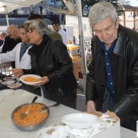 Badajoz desayuna migas 'solidarias'