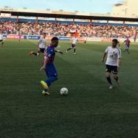 Extremadura y Mérida firman las tablas en una fiesta del fútbol extremeño
