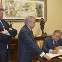 El ministro de Interior visita Badajoz