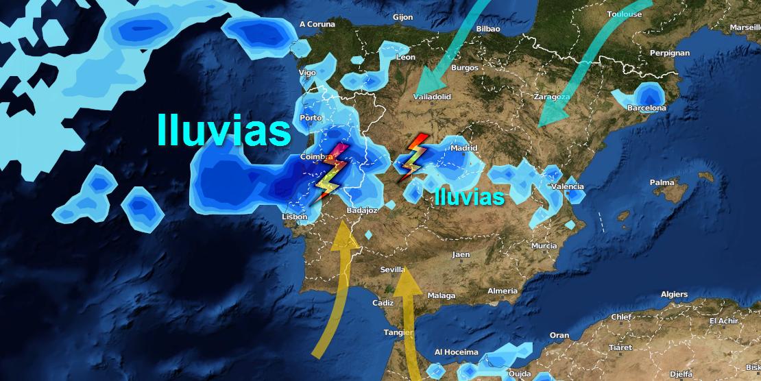 Chubascos y tormentas los próximos días en Extremadura, ¿lloverá lo suficiente?