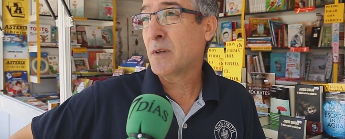 Entrevista a los expositores en la Feria del Libro de Badajoz 2017