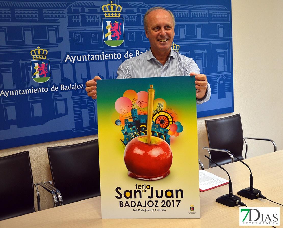 Una manzana caramelizada anuncia la Feria de San Juan 2017