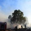 Primer grave incendio de la temporada en Badajoz