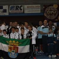 Cuatro oros para Extremadura en el Campeonato de España de Kickboxing