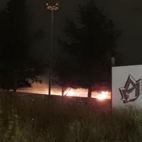 Un incendio afecta de puertas para adentro al Fuerte de San Cristóbal