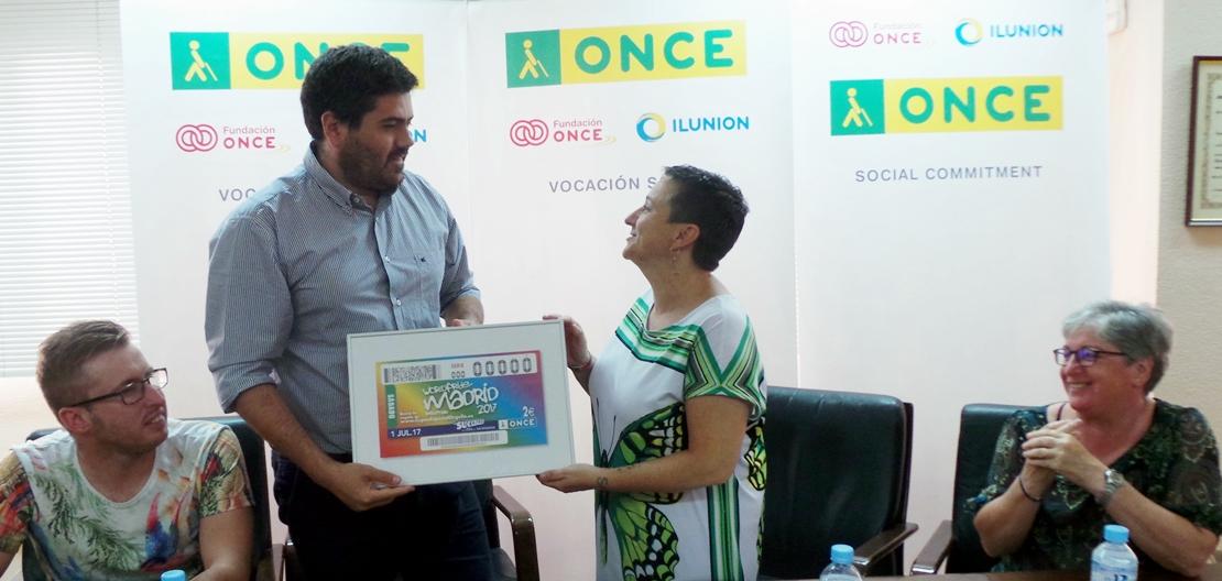 WorldPride Madrid 2017 protagoniza el cupón de la ONCE
