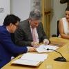 La Diputación firma un convenio con la Fundación Yehudi Menuhin