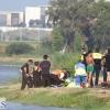 Sanitarios intentan salvar una vida a orillas del Guadiana
