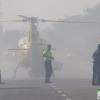Desalojan Acuarel, Campomanes y cortan la N-432 a causa del incendio