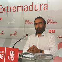 """El PSOE asegura que Extremadura está """"mejor"""" que hace dos años"""