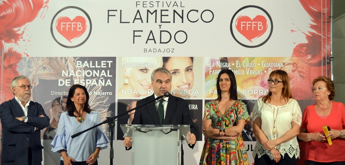 Badasom da paso al Festival Flamenco y Fado Badajoz