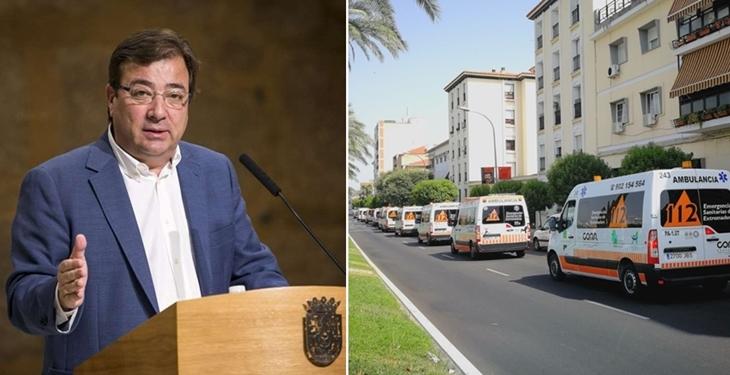 """Vara: """"120 ambulancias por Mérida no pueden más que mis limpias manos"""""""