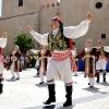 Acogida institucional a los países del Festival Folclórico