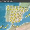Previsión meteorológica en España. Días 15 y 16 de julio