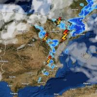 Chubascos y tormentas fuertes en el noreste peninsular los próximos días