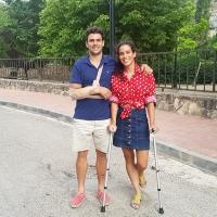 Miriam Casillas operada con éxito de un ganglión