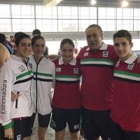 Habrá 8 extremeños en el Campeonato de España alevín de natación