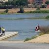 Una chica Joven se tira al río Guadiana desde el Puente de la Universidad