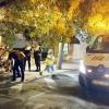La Policía Nacional impide que un hombre se quite la vida en plena calle