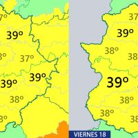 Toda Extremadura, en aviso por calor intenso los próximos días