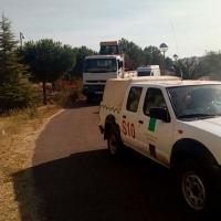 Extremadura envía nuevos medios de apoyo al incendio de Portugal
