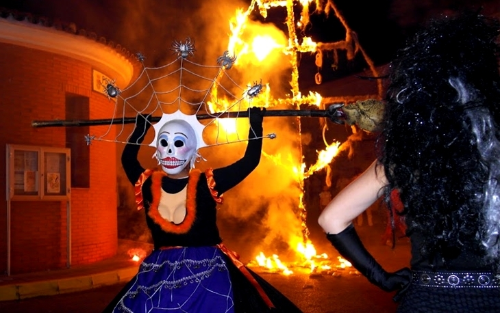 Valverde de Leganés celebra la peculiar 'Fuga de la Diabla'