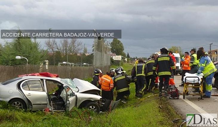 740.000 € para mejorar la seguridad en la carretera Badajoz/Valverde