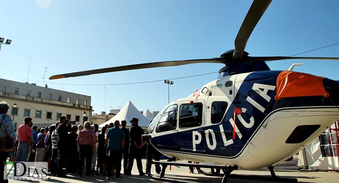 Inauguración de las actividades y actos de la Policía Nacional en Badajoz
