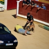 Exhibición de la Policía Nacional en la Plaza de Toros de Badajoz