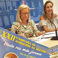 Este lunes arranca la XXII campaña de Atención al Mayor