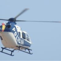 La Policía Nacional ya vigila los cielos para preparar su día en Badajoz