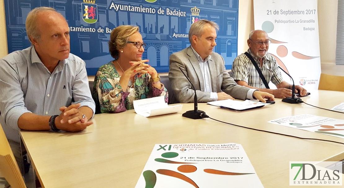 Badajoz acogerá las XI Jornadas deportivas regionales de Salud Mental