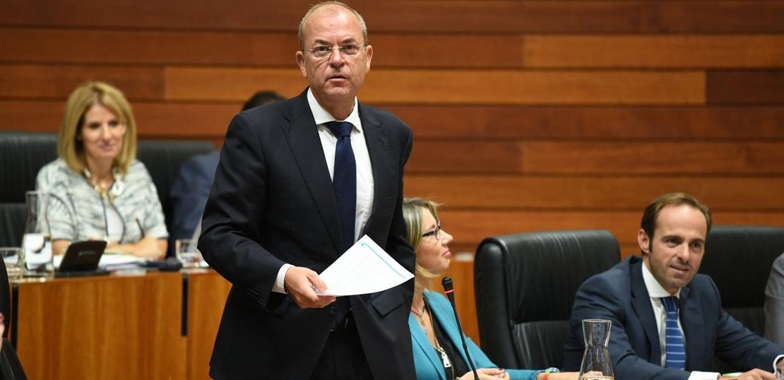 """Monago: """"Si la Junta no baja los impuestos, no apoyaremos los presupuestos"""""""