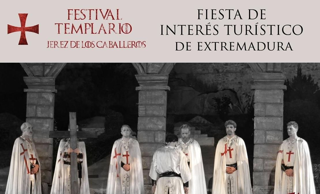 El Festival Templario de Jerez consigue ser Fiesta de Interés Turístico Regional