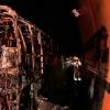 Se incendia un autobús en el Túnel de Miravete (Cáceres)