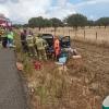 Nuevo accidente grave en la carretera Badajoz – Cáceres