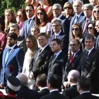 Fernández Vara asiste en Madrid al desfile de las Fuerzas Armadas