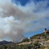 Declarado incendio forestal muy cercano a Alburquerque