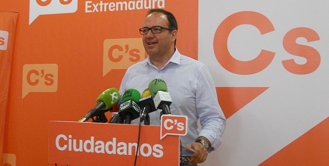 Cayetano Polo, nuevo portavoz de Ciudadanos Extremadura