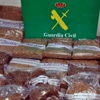 Intervenidos 20 kilos de tabaco destinados a la venta clandestina