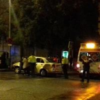 Tres heridos en un accidente en Suerte de Saavedra (Badajoz)